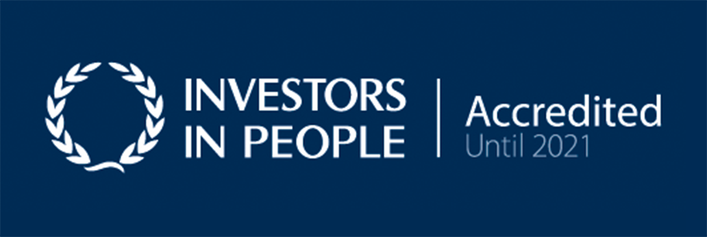 Investors in People - Accreditation 2021.